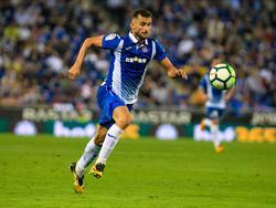 Leo Baptistao sufrió la lesión en el duelo liguero ante el Valencia. (Foto: Imago)