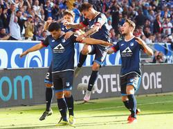 Kevin Volland könnte in Hoffenheims Startelf zurückkehren