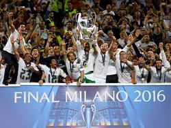 Zum elften Mal ganz oben: Real Madrid ist Champions-League-Sieger 2016