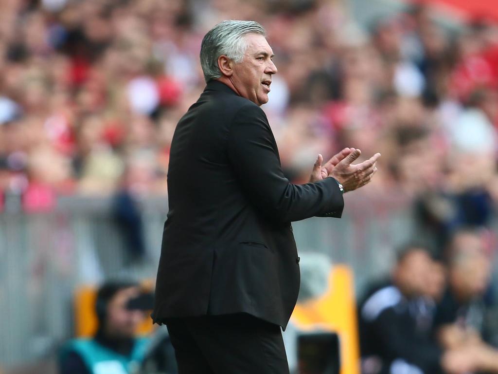Carlo Ancelotti feierte zum ersten Mal in der Bundesliga keinen Sieg