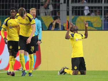 El colombiano Adrián Ramos marcó el gol de la victoria del Dortmund. (Foto: Getty)