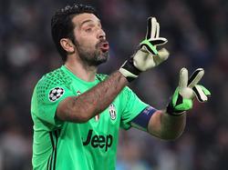 Gianluigi Buffon ist sicher, Juve gehört unter die letzten Acht