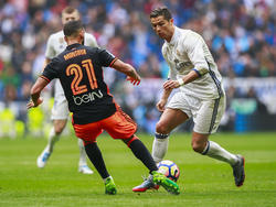 Cristiano Ronaldo erzielte das wichtige 1:0 für die Königlichen
