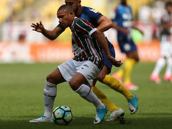 Wellington Silva con la camiseta del Fluminense. (Foto: Getty)