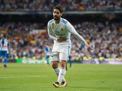Isco erzielte beide Treffer bei Reals Sieg gegen Espanyol