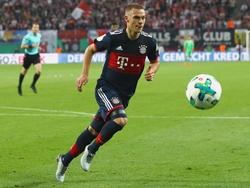 Mit dem FC Bayern wieder in der Spur: Joshua Kimmich