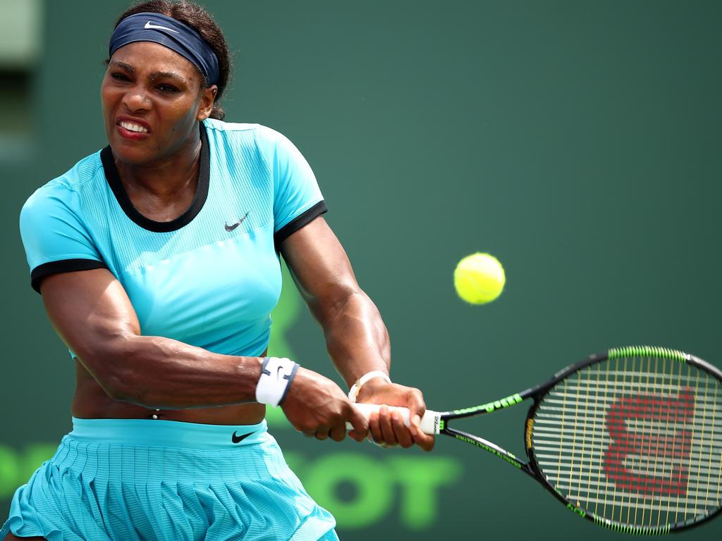 Serena Williams scheiterte in Miami früh