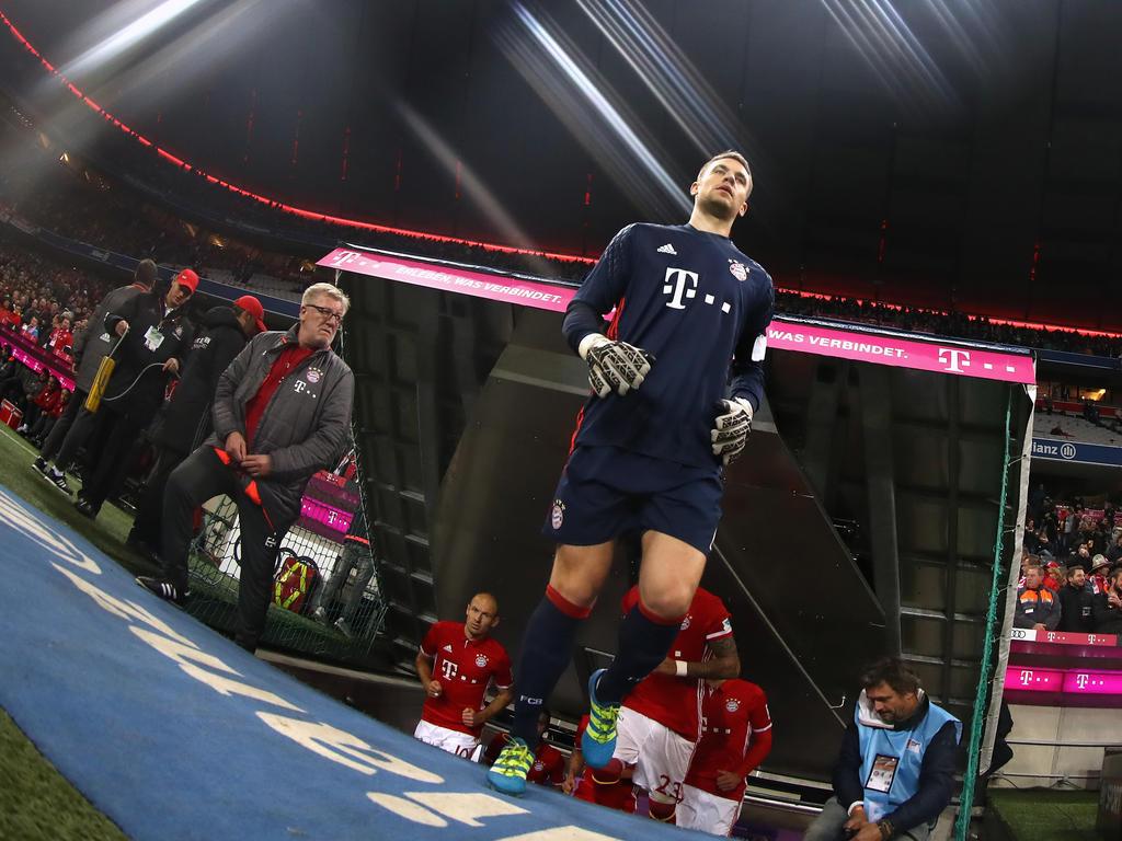 Manuel Neuer weiß um die Gefahr des FC Augsburg
