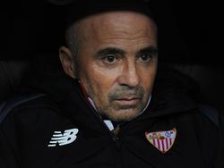 Sampaoli, en su reciente etapa en Sevilla. (Foto: Getty)