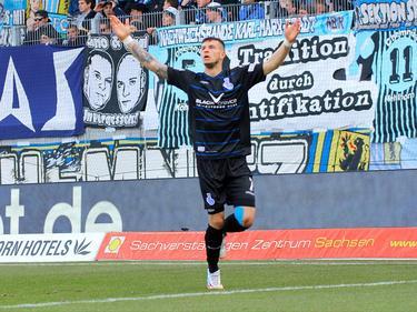 Der MSV Duisburg behauptet die Tabellenführung