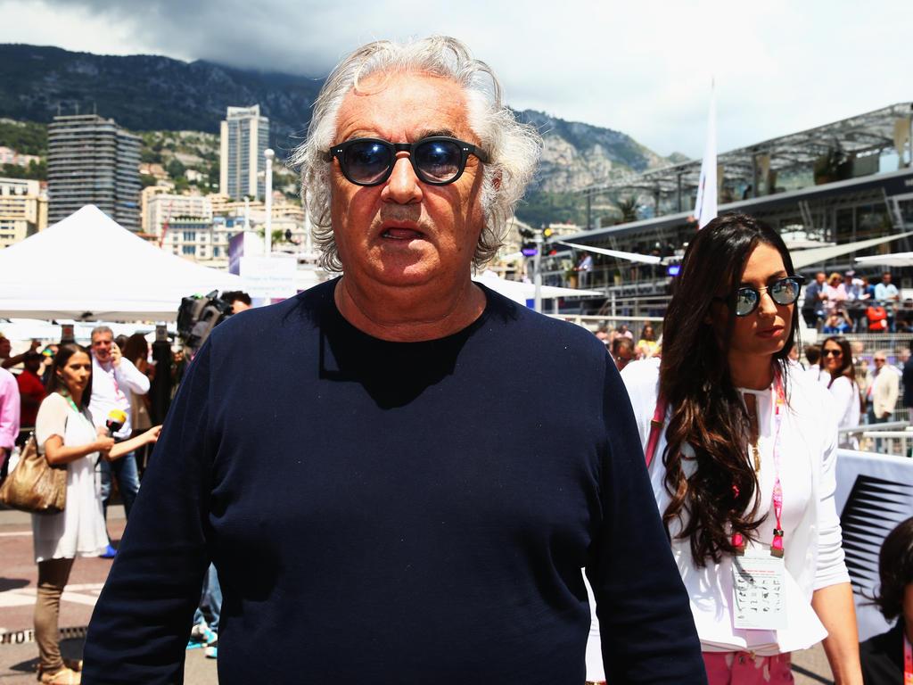 Trotz der starken Tests kommt Ferrari bei Flavio Briatore nicht sehr gut weg