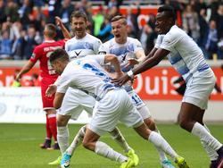 Der MSV Duisburg feierte einen spektakulären Heimsieg gegen den FSV Frankfurt