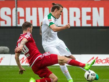 Max Kruse hat den SV Werder in Ingolstadt mit vier Toren zum Sieg geschossen