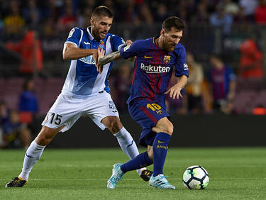 Lionel Messi glänzte im Derby als dreifacher Torschütze