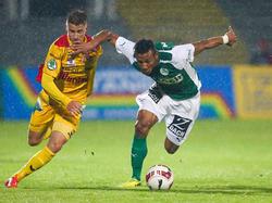 Karim Onisiwo (r.) fixierte gegen gegen den Kapfenberger SV den 2:0-Endstand