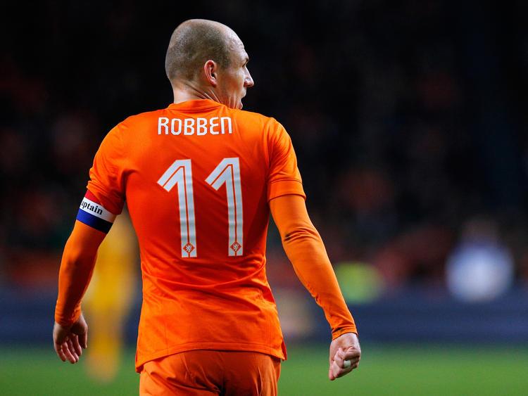 Arjen Robben hat einen Zwischenstop in Amsterdam eingelegt