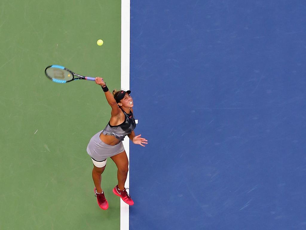 Platz 12 (-): Madison Keys - 3403 Punkte
