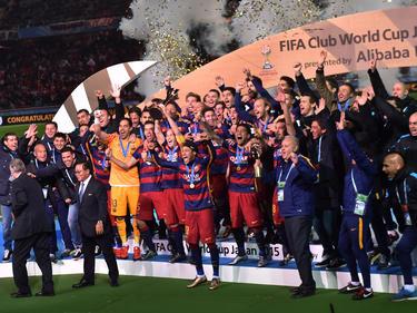 Der FC Barcelona hat sich den nächsten internationalen Titel geholt