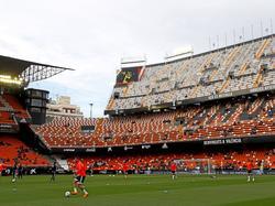 Das altehrwürdige Estadio de Mestalla