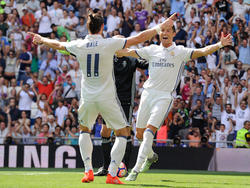 Bale (l.) und CR7 fehlen Real am Wochenende