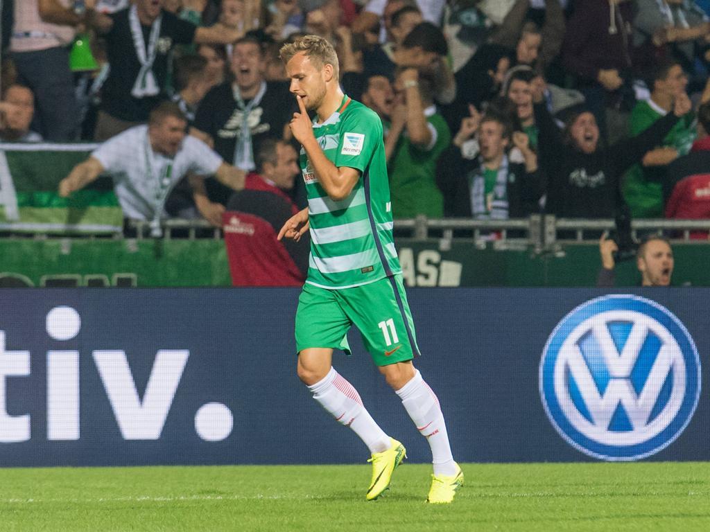 Fühlt sich in Bremen endgültig angekommen: Lennart Thy