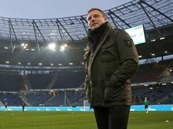 André Breitenreiter steht vor seinem Pflichtspieldebüt für Hannover 96