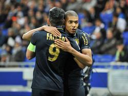 Radamel Falcao und Kylian Mbappé erzielen die Treffer für die Monegassen