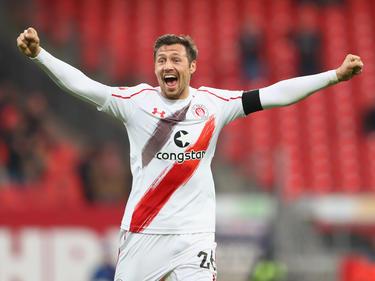 Sören Gonther jubelt in Zukunft für Dynamo Dresden