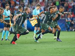 Die deutsche Mannschaft will nach dem Sieg gegen England im Halbfinale nun den Titel holen