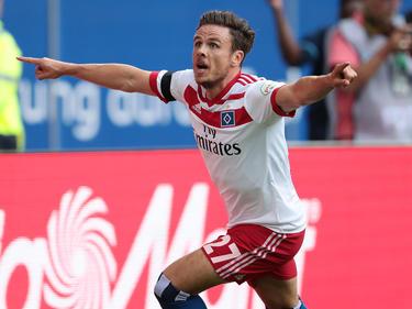 Nicolai Müller erzielte den Siegtreffer für den HSV