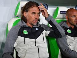Vor Bayern-Duell optimistisch: VfL-Trainer Schmidt