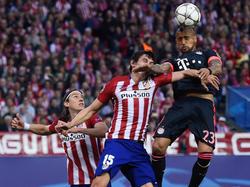Durchsetzungsvermögen ist gegen Atlético gefragt