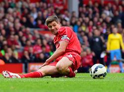 Ein letztes Mal auf die Zähne beißen heißt es für Steven Gerrard und die Reds gegen Stoke City.