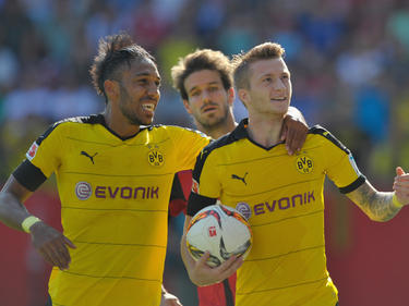 Der BVB schon unter anderem Marco Reus (r.) und Pierre-Emerick Aubameyang