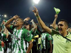 Atlético Nacional tras coronarse campeones de Sudamérica. (Foto: Imago)