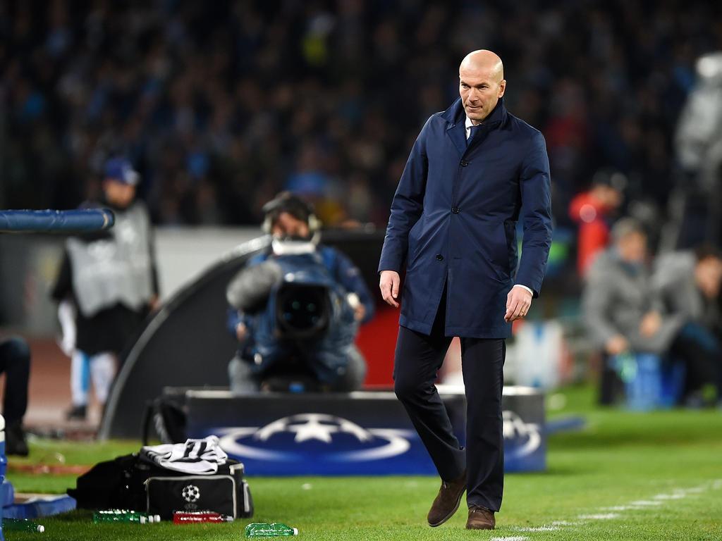 Zinédine Zidane will mit 60 kein Coach mehr sein