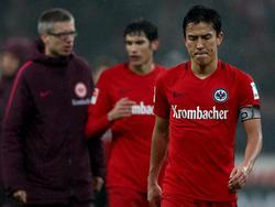 Makoto Hasebe wird der Eintracht für den Rest der Saison fehlen