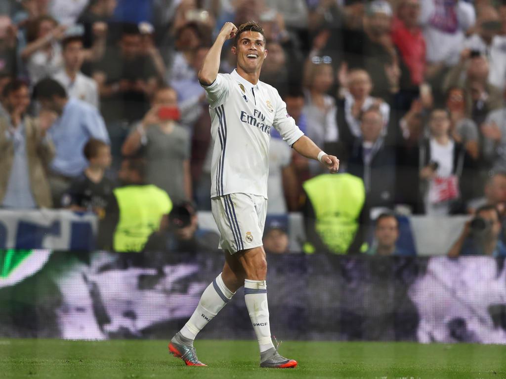 Cristiano Ronaldo war der gefeierte Mann des Abends in Madrid