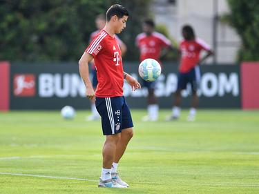 James Rodríguez hat sich beim FC Bayern schnell eingelebt