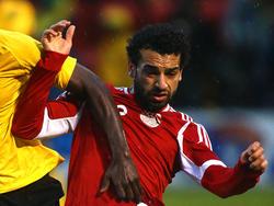 Mohamed Salah hat Ägypten mit zwei Toren gegen die Demokratische Republik Kongo zur WM geschossen