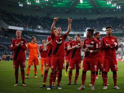 Bayer bedankt sich für die Unterstützung der eigenen Fans