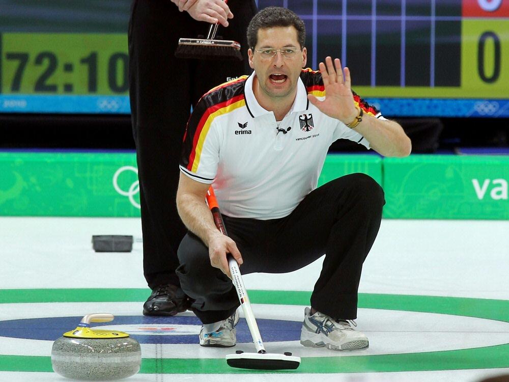 Deutsche Curler bei der Mixed-WM im Achtelfinale