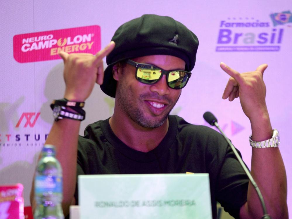 Ronaldinho war zweimal Weltfußballer