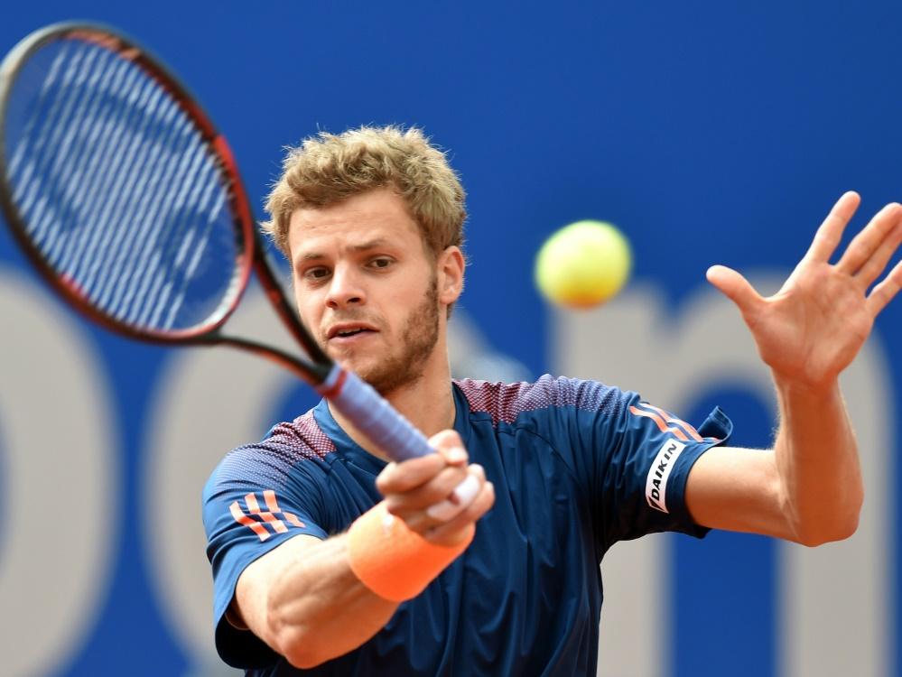 Tennisprofi Hanfmann erstmals in einem ATP-Tour-Finale