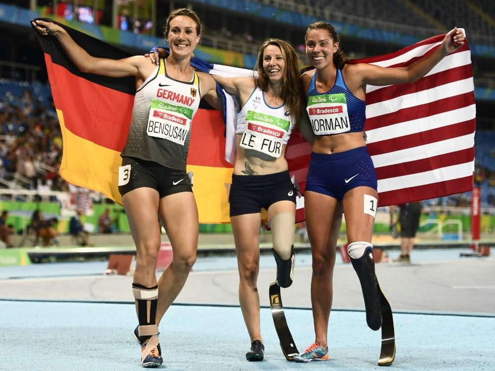 Drei Goldmedaillen für Deutsche bei Para-WM