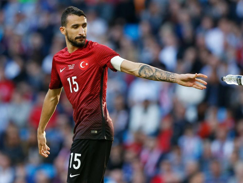 Mehmet Topal erzielte den Siegtreffer für die Türkei