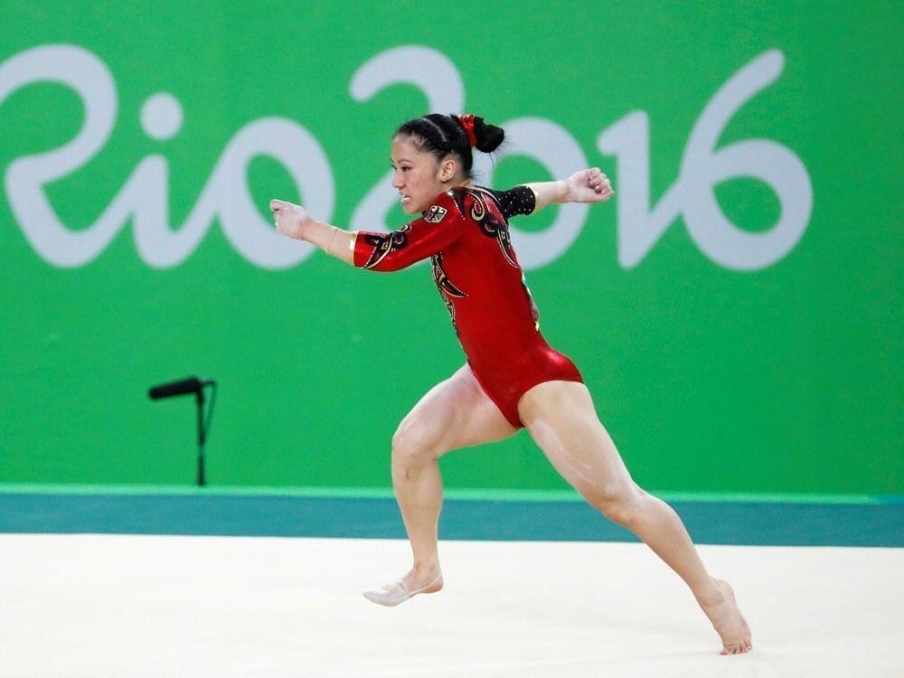 Kim Bùi bei den Olympischen Sommerspielen in Rio