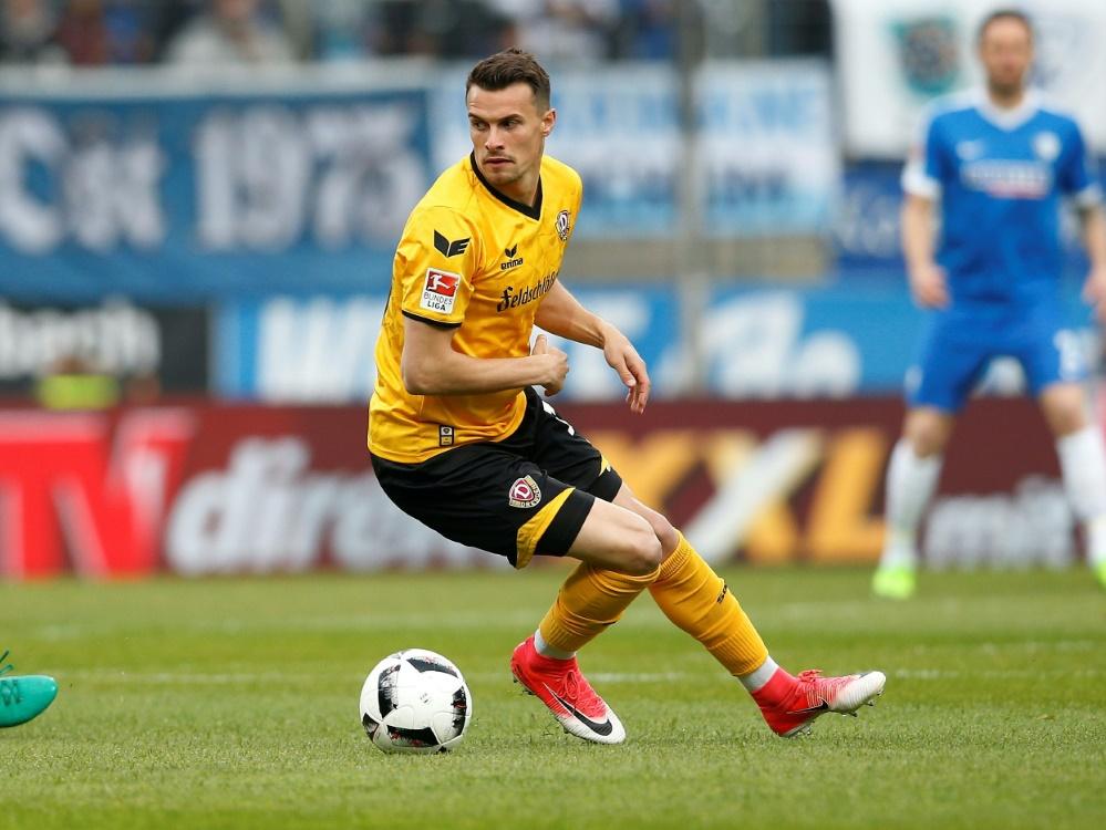 Philip Heise fehlt Dynamo Dresden in den nächsten Wochen