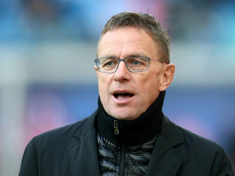 Äußert Verständnis für die Wechselwünsche seiner Stars: RB-Boss Ralf Rangnick