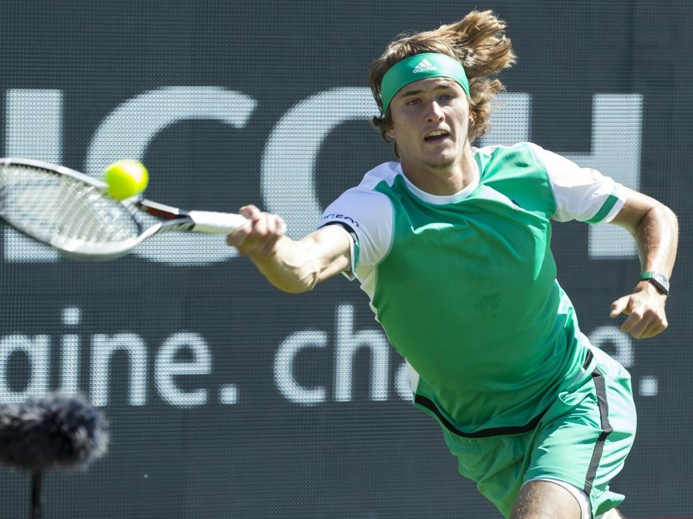 Alexander Zverev gewinnt in Halle gegen Kohlschreiber